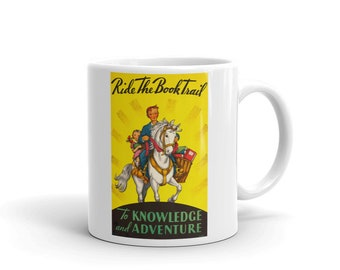 Ride The Brook Trail 1934 - Mug Made In The USA