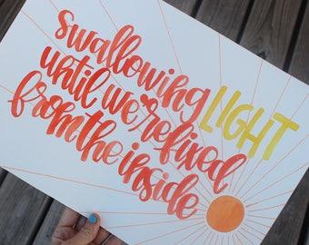 swallowing Light