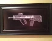 TAVOR   CAT scan gun print - r...