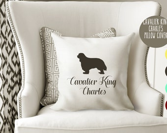 Personalized Cavalier King Charles Pillow Cover