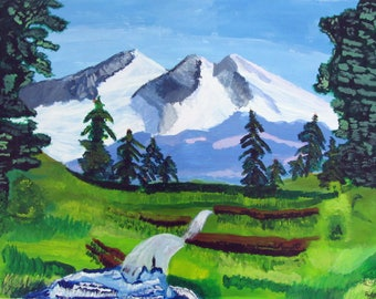 Mountain Landscape - Print