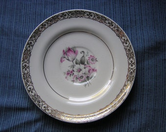 "American Limoges Candle Light ""Masterpiece"" saucer"