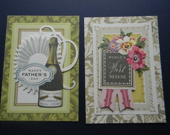 DIY Create-A Card Kit with Designer Anna Griffin Card Bases, Layers and Card Toppers (451)
