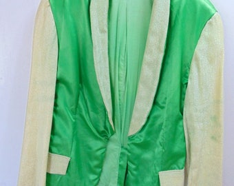 St. Patricks Day Leaprochan light weight Smoking/Dinner Vintage Jacket Chest 40 in.