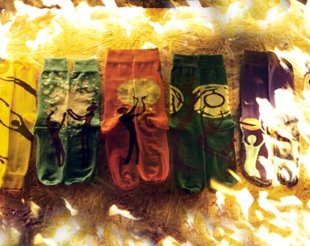 Unisex human socks,Funny Socks,Socks gift box,Colorful print socks,Socks for women,,Unique womens sock,Crazy men sock,Pack 6 socks gift