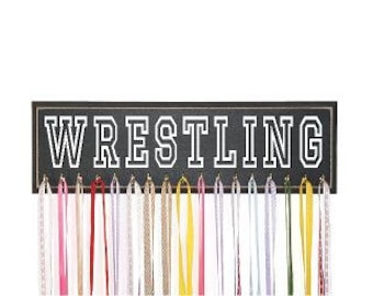 Wrestling Medal Holder, Perfect Gift for Wrestlers, Wrestling Medal Rack, Wrestling Medal Display