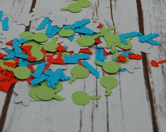 Scientist Theme Birthday Party Confetti, Science Party Decorations