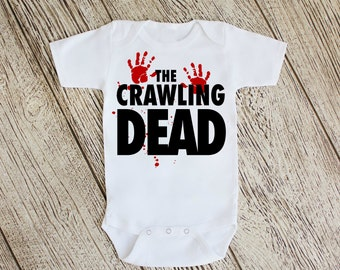 The Crawling Dead Bodysuit or Youth T Shirt