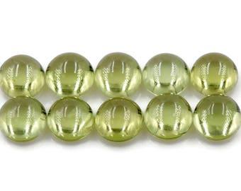 Peridot | Natural Peridot | Peridot Gemstone | Peridot Loose Gemstone | August Birthstone | Green PERIDOT  cabs 5mm 0.79ct
