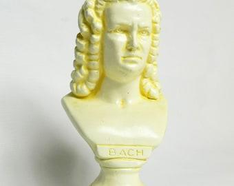 BACH plaster statue in