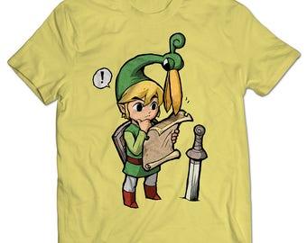 The Legend of Zelda: The Minish Cap Link Ezlo T-shirt