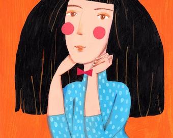 Lady  Original Illustration
