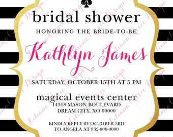 Bridal Shower Invitations (Printed)