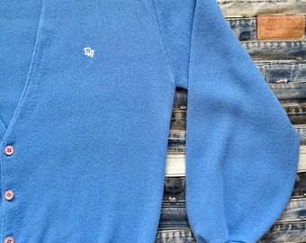 Christian Dior Monsieur- Mens - Retro Cardigan Sweater - XL