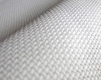 AIDA-16 Count-Stoff. Weißes Kreuz Stich Stoff. Premium Qualität Stickereistoff hergestellt in Europa.