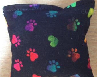 Handmade Paw Print Catnip Cat Toys