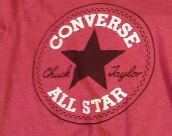 FREE SHIPPING! Converse all star small t shirt