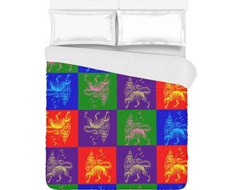 Lion of Judah / Duvet Covers / bed cover / bedding sets / bedspreads / duvet sale
