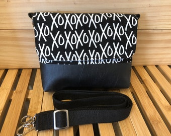 Grab & Go Mini Messenger Bag - Yes Please XO