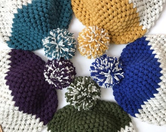 Crochet Pattern // Signature Slouchy Beanie // Easy // Written Tutorial // Slouchy Hat Tutorial // Slouchy Beanie for Women