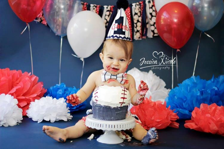 baseball cake smash outfit boy vintage baseball birthday