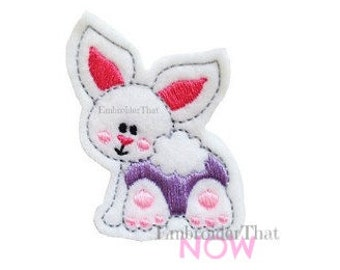 INSTANT DOWNLOAD Bunny Bum Embroidery Design File
