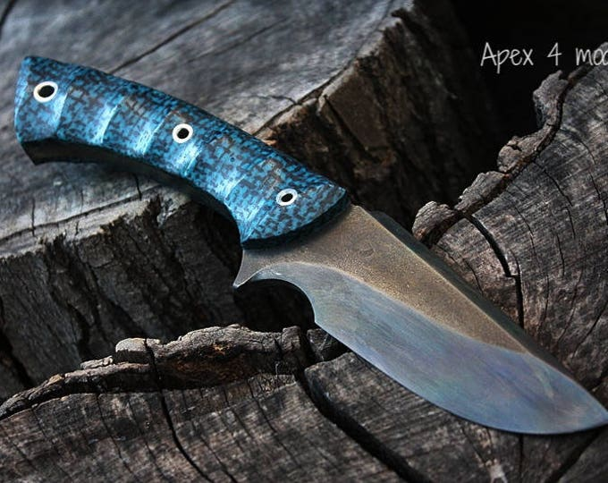 """Handcrafted FOF """"Apex 4"""", survival, hunting or tactical knife"""