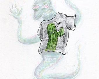 Patty the Poltergeist (ORIGINAL ART)