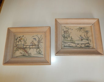 FRANCE TOILLE PRINT Wall Hangings