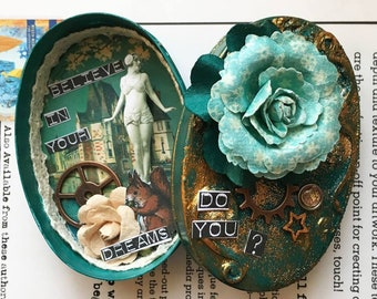 Mini box type shadowbox - Do you believe in your dreams