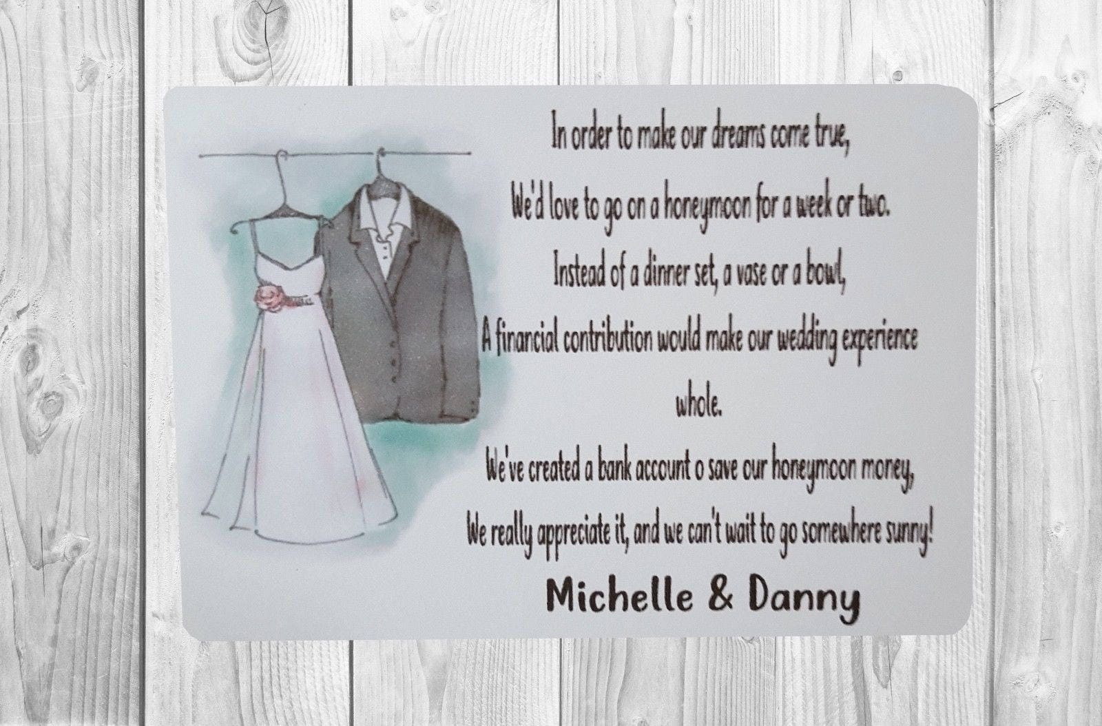 Attractive Wedding Invitation Poems For Money Gifts Pattern ...