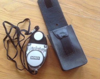 Vintage Robin Professional light metre