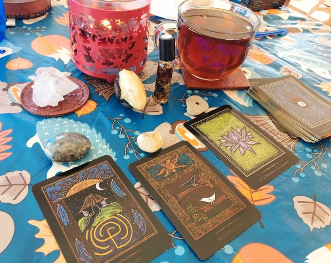 Three Card Reading | Shamanic Healing Oracle Card Reading | 1 question reading | birthday tarot | weekly tarot | monthly tarot | Oracle Read