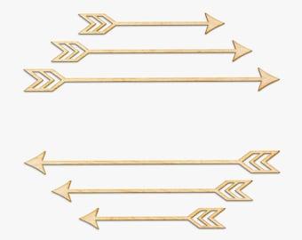 Wild Arrow Set Wood Sign - Wood Sign Art, Wooden Sign, Laser Cut Wood, Wood Decor, Nursery Decor, Arrow, Arrow Decor, Boho Nursery, Wild