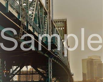 Jacksonville Bridge 8x10 Photograph
