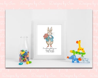 Peter Rabbit Printable Wall Art