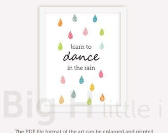 Dance In The Rain Etsy