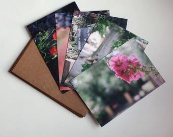 Languedoc in Summer - five art notecards