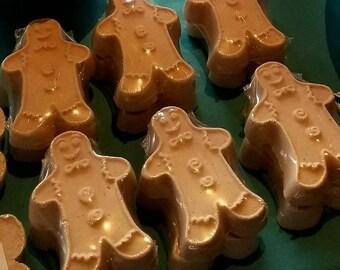Gingerbread Man Bath Bombs