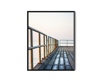Limassol pier. Photo print or pack of 5 postcards