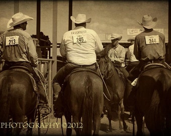 Western Cowboy Rodeo Fine Art Photography Rustic Home Decor Wall Art