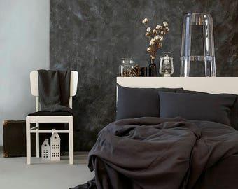 Linen duvet covert/Gray Linen/ duvet cover s/ 100% linen/Natural Linen/Softened Linen