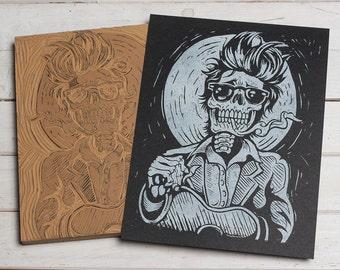 Bob Dylan - Block Print