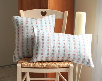 Set of vintage floral pillow covers