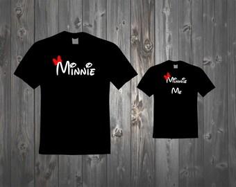 Minnie - Minnie Me Mommy and Me shirts