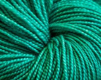 Sea Green Bertie SW Merino/Silk HT Approx 100grams