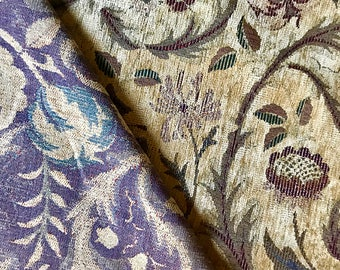 Multicolored Floral Upholstery Fabric