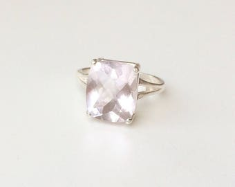 Lavender Amethyst 925 Sterling silver Ring