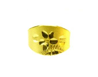 돌반지  24k baby ring 99.9 % pure gold