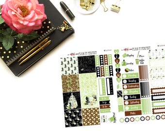 Peace of Mind mini HP Kit// MINI HP Weekly Kit// 2 sheets of planner stickers